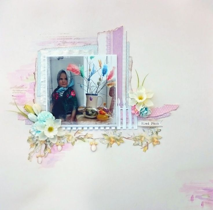 Happy Easter Layout by Helena Wikman #Piondesign #EasterGreetings
