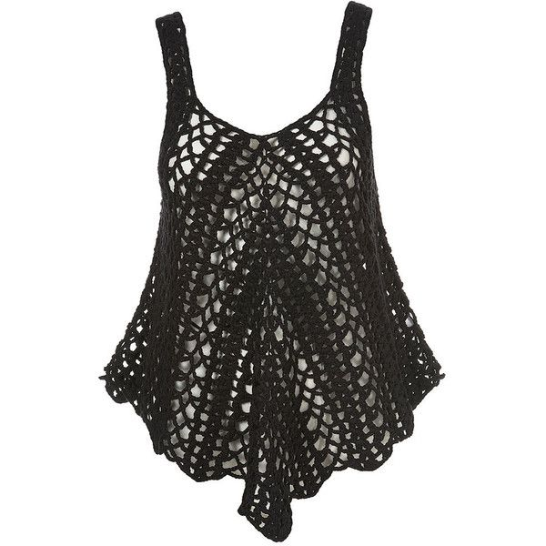 Knitted Crochet Vest, found it, know I need the pattern