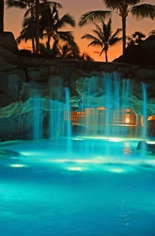 60 best Waterfall Pool images on Pinterest | Dream pools, Waterfalls I Want A Pool In My Backyard on