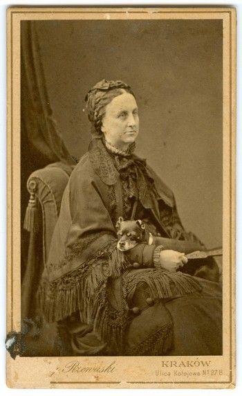 Róża z Potockich Stanisławowa Zamoyska (1831 – 1890). Fot. ok. 1880 r.