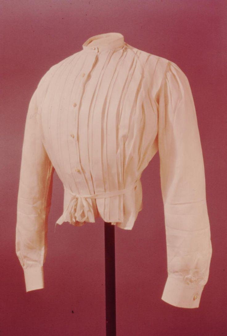 Victorian White Blouse