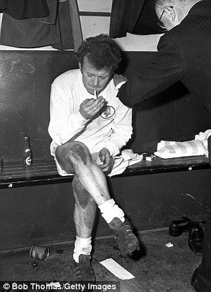Providing the spark: Billy Bremner settled the FA Cup semi-final between Leeds and Manchester United and in 1970