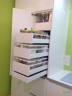 Хранение,  верхние шкафы