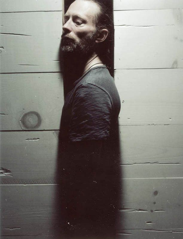 Thom Yorke photographed by Eliot Lee Hazel