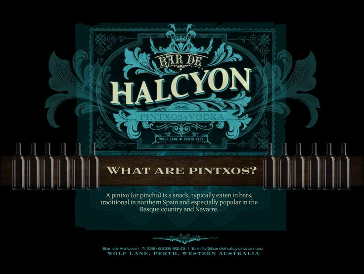 Bar de Halcyon - two levels, nice little eats (and I mean little) good drink selection.