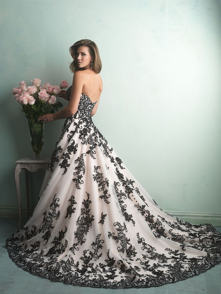 Love this dress! Style 9150 from the 2014 collection   http://www.allurebridals.com/products/9150