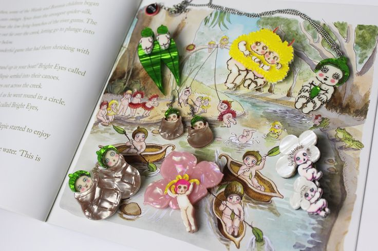 May Gibbs bush babies is an Australian treasure and a very fond memory of my childhood, which I still love to this day. I'm sharing thi...