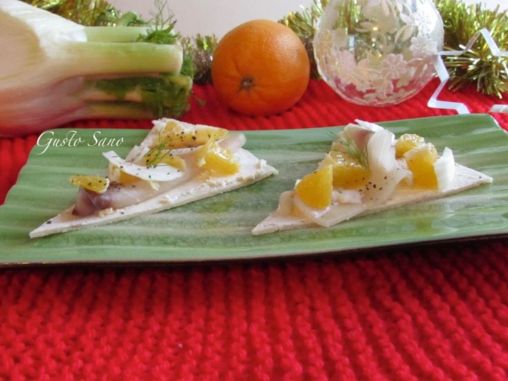 Ricetta: Piadina a fette con pesce Spada, arancia e finocchio