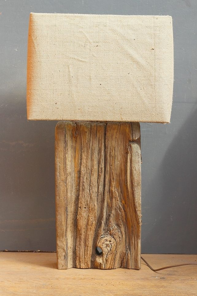 Driftwood Lamp,Rustic Dock wood Lamp,Drift Wood Lamp,Table Lamp 5 £125.00