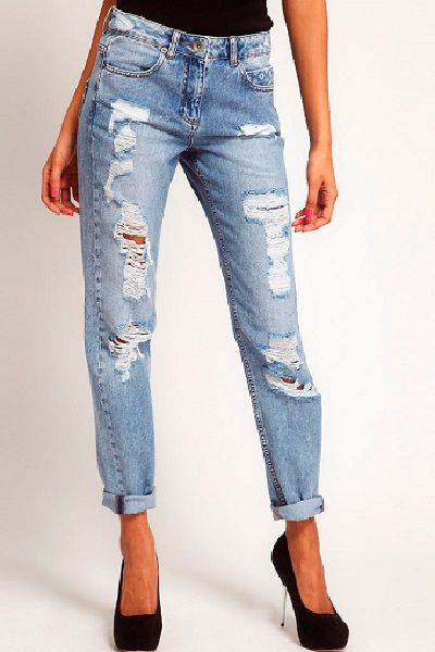 Рваные джинсы 2013