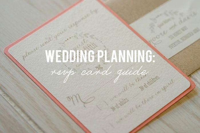 Wedding RSVP Card Guide via RealOmahaWedding.com #weddingplanning #realomahawedding