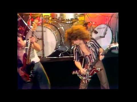 """Van Halen - """"Runnin' With The Devil"""" (Official Music Video) - David Lee Roth is such an Animal on stage and his Hair wow!"""