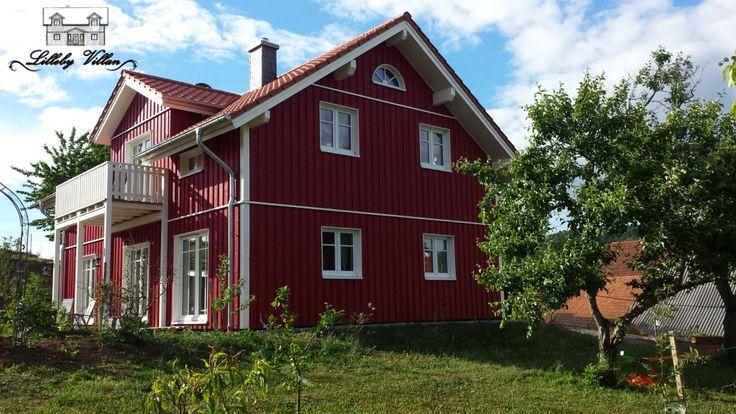 Schwedenhaus im Frühling