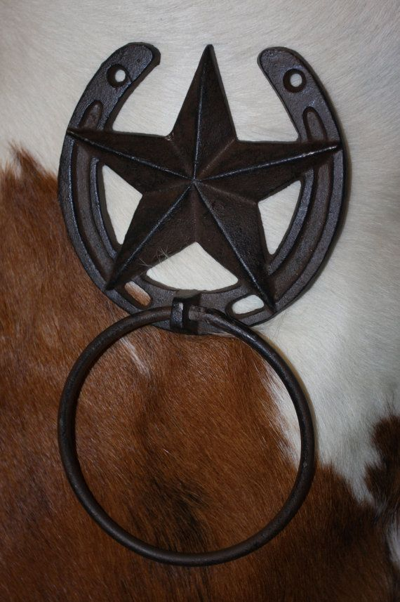 8 pcs Country western bath accessories featuring by WePeddleMetal
