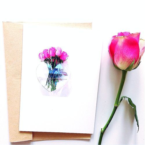 Gift Card – Pink Roses