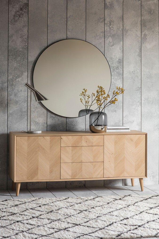 Milano 2 Door 3 Drawer Sideboard Sideboard Decor Oak Sideboard Furniture