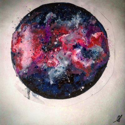 A little galaxy.