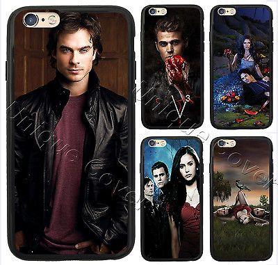 The Vampire Diaries Damon Stefan Elena Cover For Iphone 5 6 6s 7 plus Phone Case   eBay