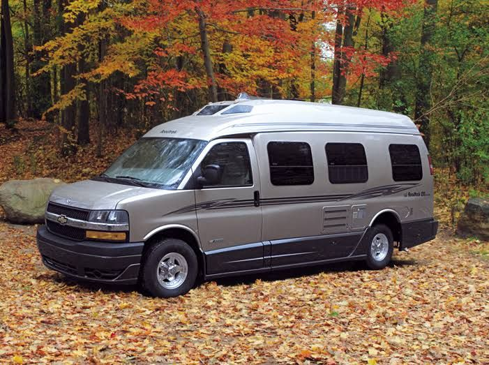 While doing some research for a friend who is looking for a small RV to take to Burning Man, I fell hard for the comfort and design of Class B RVs.