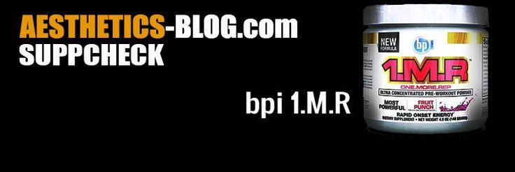 #Testbericht - 1.M.R (one more rep) #Trainingsbooster von #bpi