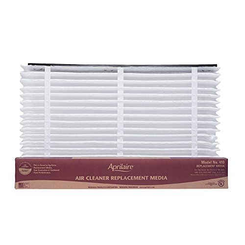 Aprilaire 410 Air Filter Single Pack for Air Purifier Models 1410, 1610, 2410, 3410, 4400 - Air quality matters. That's why you trust Aprilaire to keep your home environment safe for you and your family. This genuine Aprilaire 213 Air Filter Replacement is rated MERV 13. That means it makes the air in your home fresh and healthy so your family can breathe easy. It's proven...