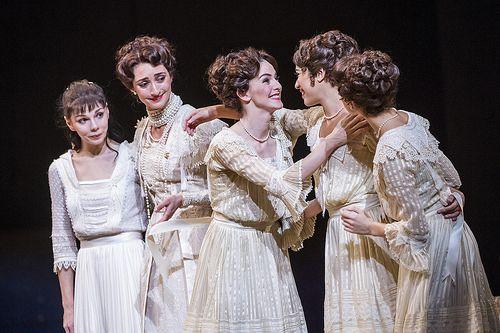 "The Royal Ballet ""Anastasia""- Natalia Osiopa, Principal (L) and Yasmine Naghdi, First Soloist (R)"