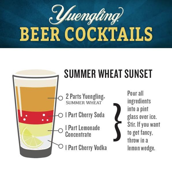 #Yuengling Beer Cocktail!