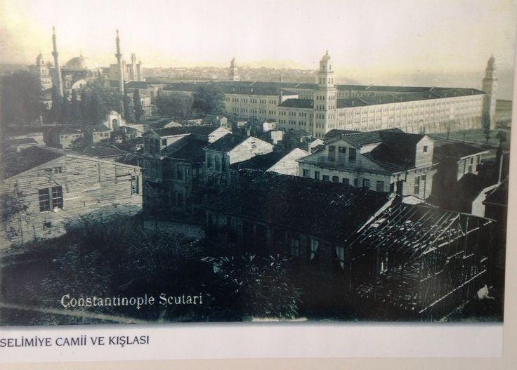Selimiye Kışlası ve Camii Selimiye Barracks and Selimiye Mosque May be before 1920's