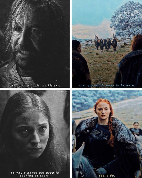 Game of Thrones callbacks - 2x09 / 6x09 Game of Thrones isn't just a TV series it's more than that. | Game of Thrones Quotes | Game of Thrones |