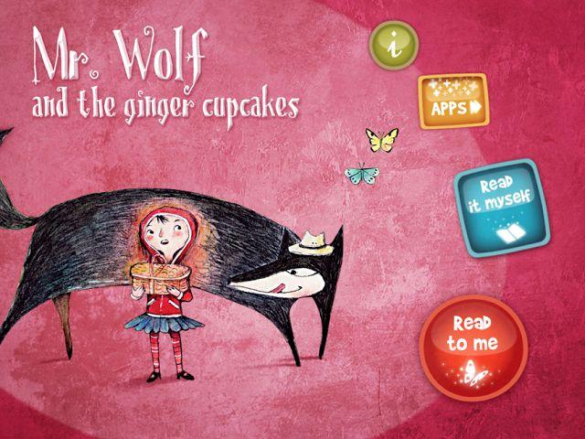 French Apps for Kids: Monsieur le loup et les gâteaux au gingembre