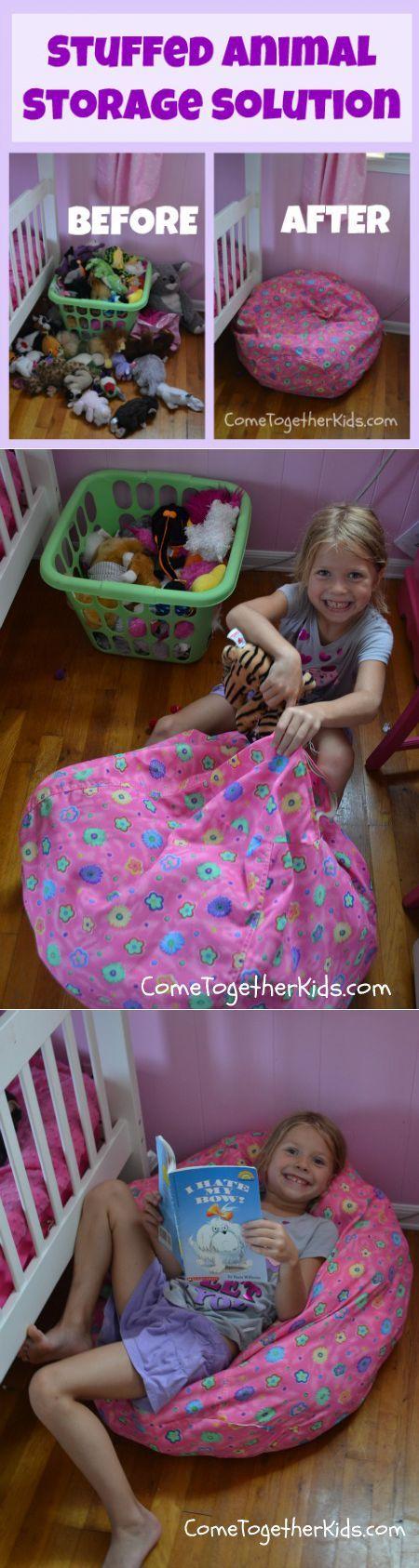 Кресло-мешок и мешок для хранения игрушек - 2 в 1 | ВСЁ для ДЕТОК | Постила