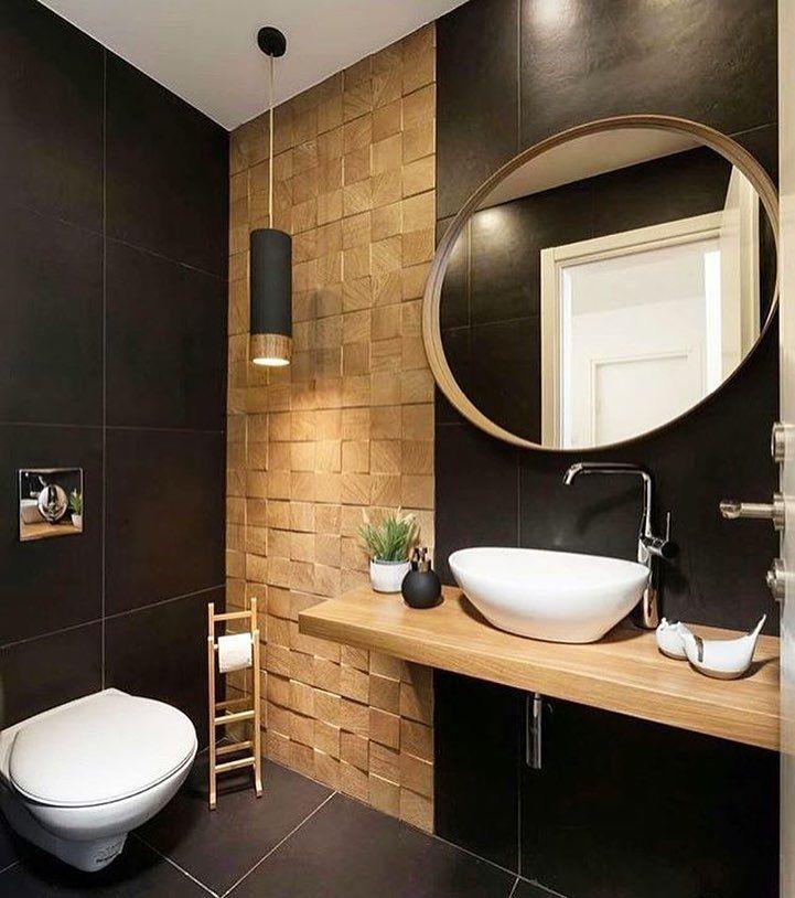 Adorei a composição desse banheiro! Projeto: LR Design ➡️Siga: @shopp …   – Bath and Shower