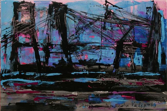 """Mina Papatheodorou Valyraki: """"Cranes"""", 2006"""