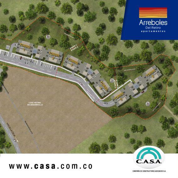 : #arrebolesdelretiro un proyecto localizado cerca de una amplia red comercial.  #construyetuhogar #apartamentoenventa