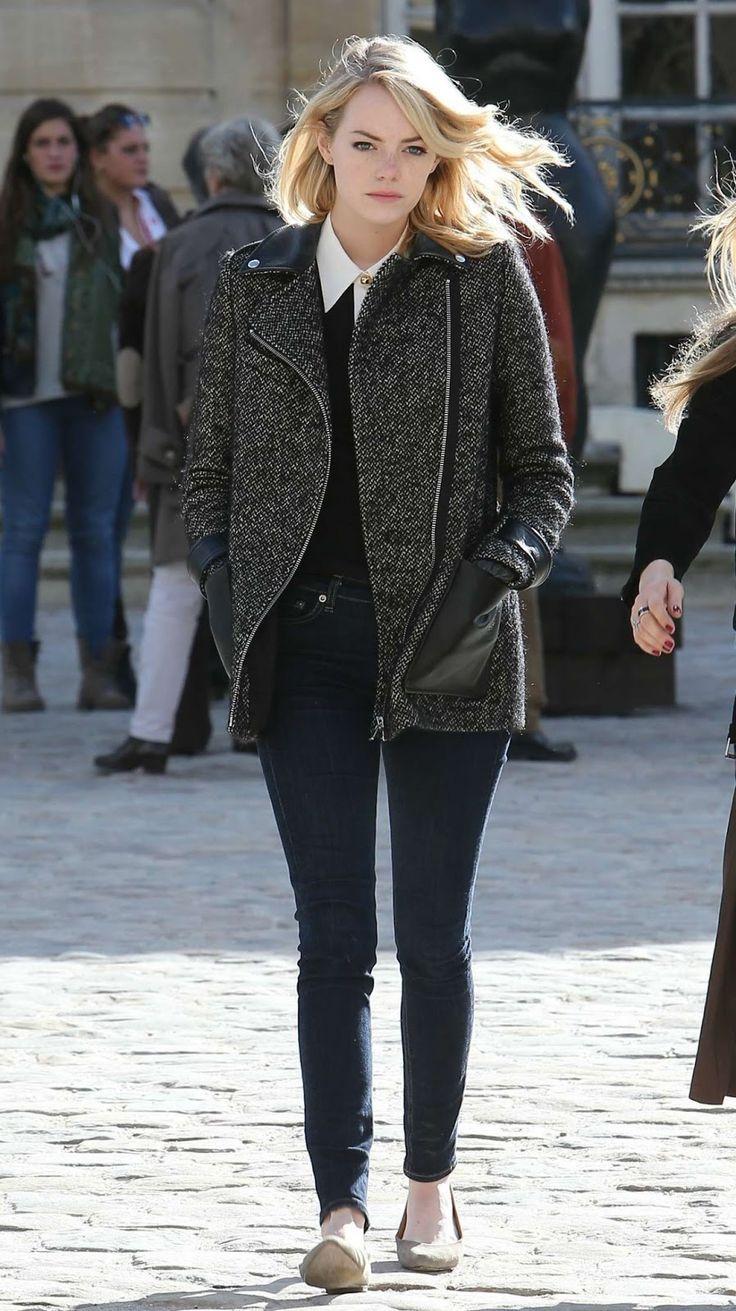 EstiloDF » ¡Los secretos del street style de Emma Stone!