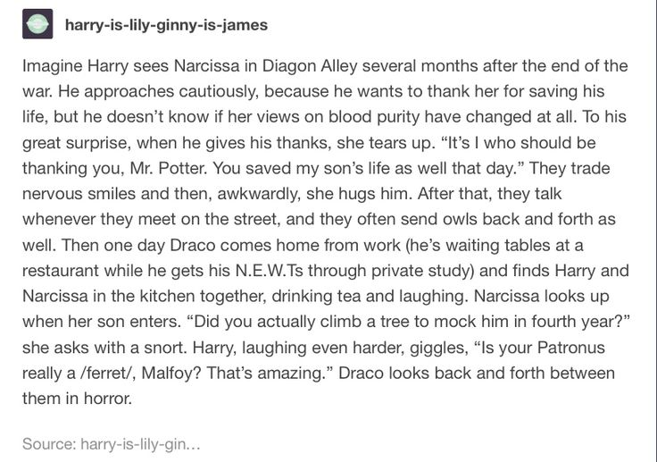 Harry and Narcissa