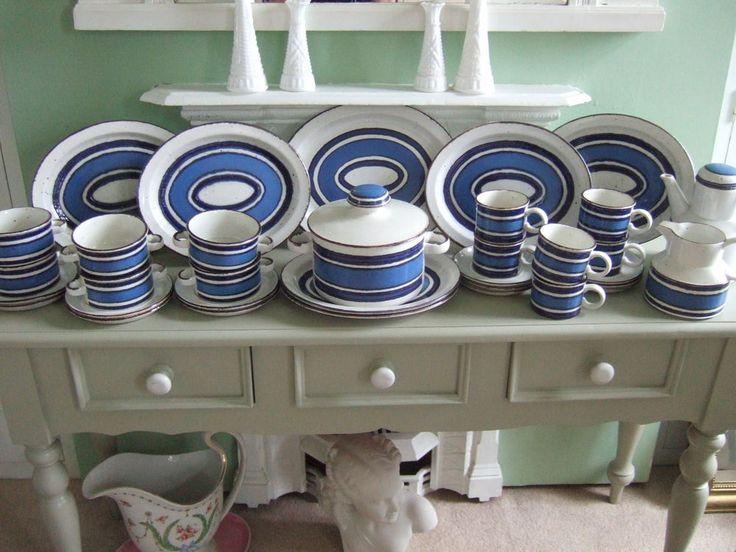 Midwinter Stonehenge Oven to Tableware,Blue Moon Six ...