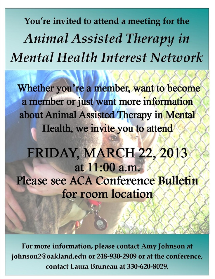 Animal-assisted therapy essay