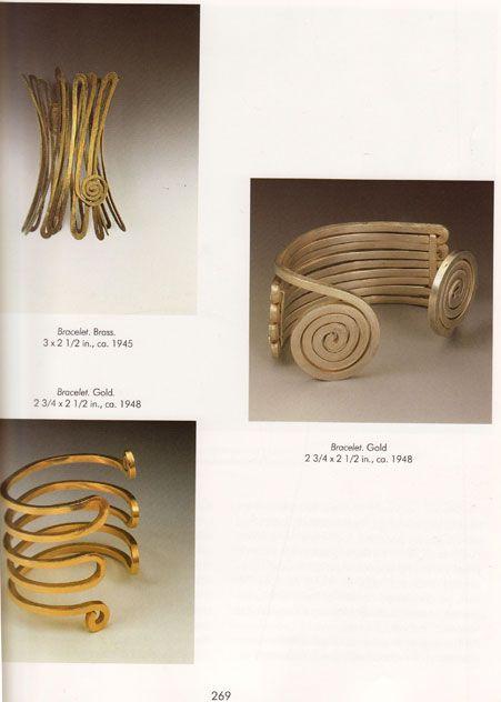 Bracelets   Alexander Calder.  Image taken from the book 'The Intimate World of Alexander Calder'