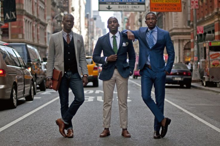 Serious-person denim; Business Casual; Suited Up. Your three levels of looking like you know what you're talking about