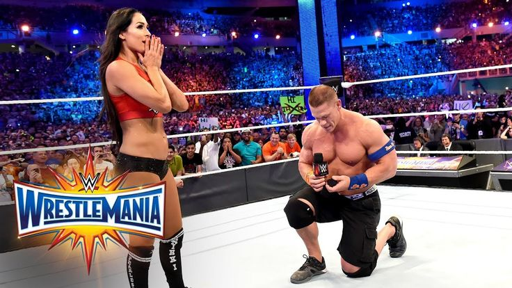 John Cena proposes to Nikki Bella: WrestleMania 33 (WWE Network Exclusive) - WATCH VIDEO HERE -> http://philippinesonline.info/trending-video/john-cena-proposes-to-nikki-bella-wrestlemania-33-wwe-network-exclusive/   After their WrestleMania victory, John Cena pops the question to Nikki Bella in front of millions watching live around the world: Courtesy of the award-winning WWE Network. More ACTION on WWE NETWORK : Subscribe to WWE on YouTube: Must-See WWE videos on YouTube: