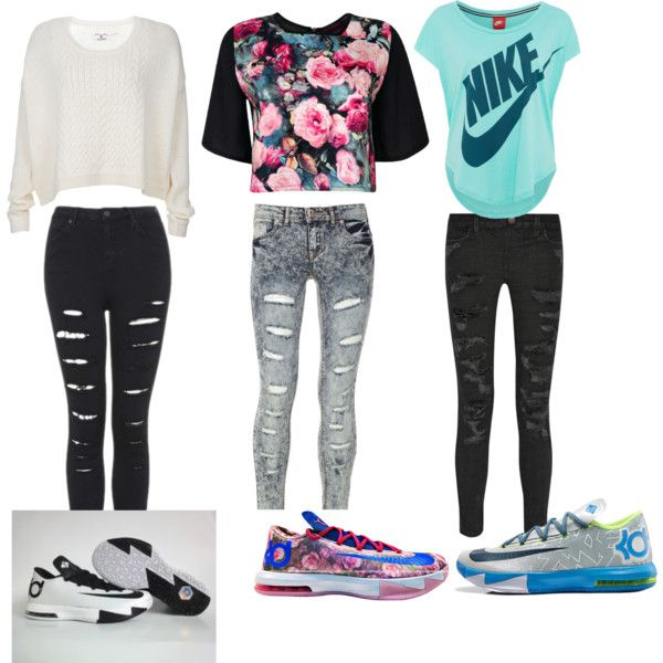 41 best images about cute swag on Pinterest | Mila j Pink jordans and Kd outfits