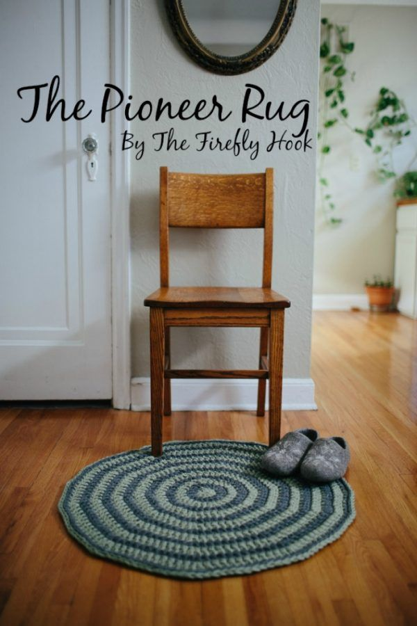 The Pioneer Rug – A Free Crochet Pattern