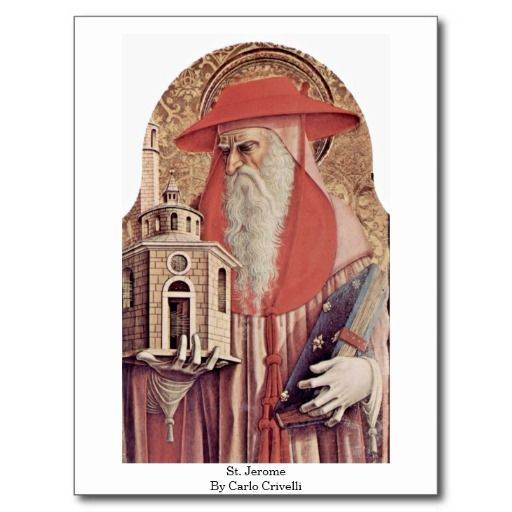 =>>Cheap          St. Jerome By Carlo Crivelli Postcard           St. Jerome By Carlo Crivelli Postcard online after you search a lot for where to buyDeals          St. Jerome By Carlo Crivelli Postcard Review from Associated Store with this Deal...Cleck Hot Deals >>> http://www.zazzle.com/st_jerome_by_carlo_crivelli_postcard-239130653356570771?rf=238627982471231924&zbar=1&tc=terrest