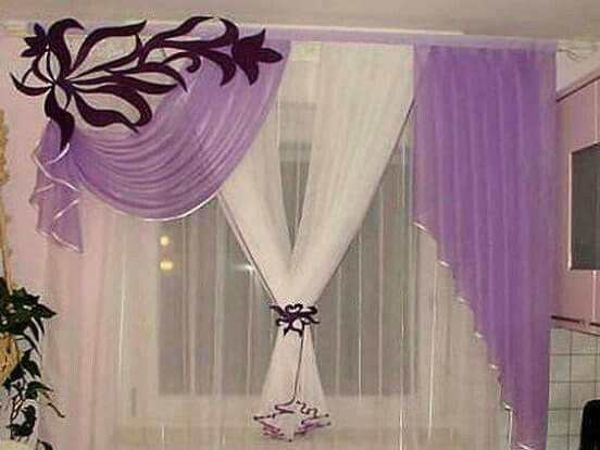 cenefas cortinas diseos de cortina ideas de cortina cortinas modernas cortinas de ganchillo curtains