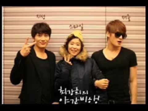 2011 1225  최강희의  야간비행  with 지성, 김재중 #3 Choi Gang Hee's Radio Show 'Night Flight'    with Ji Sung and Jae Joong as guests