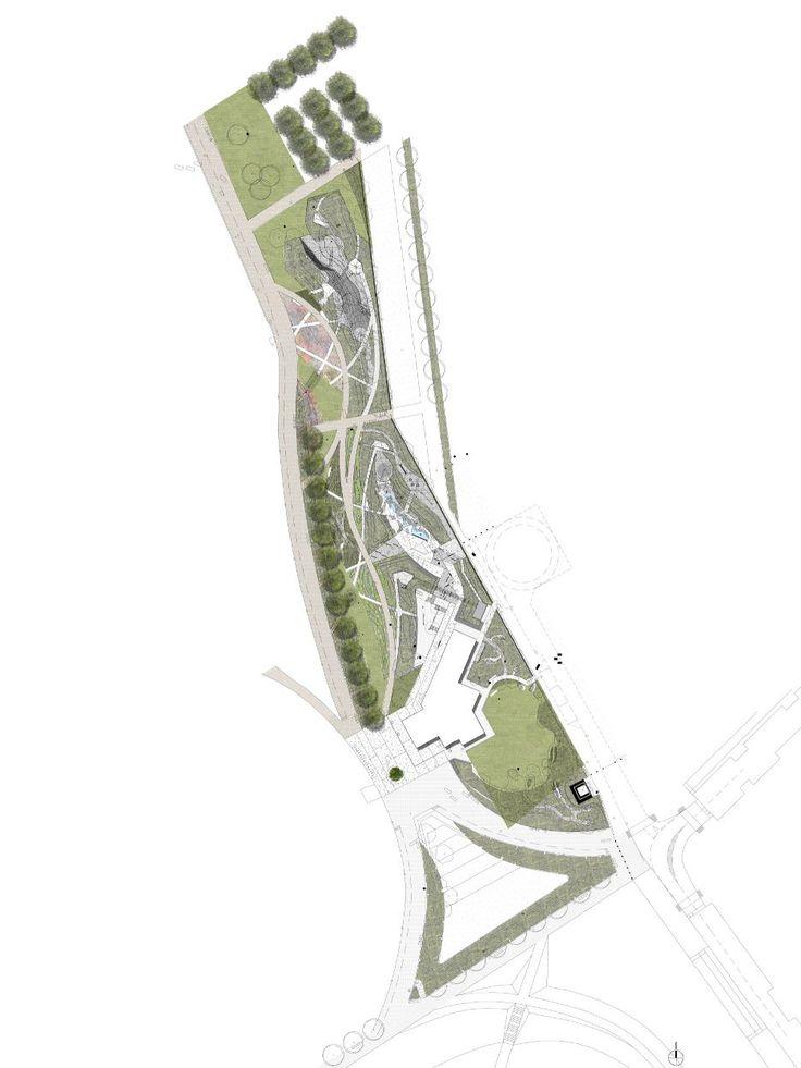 Tumbling Bay Playground, Land Use Consultants   Masterplan
