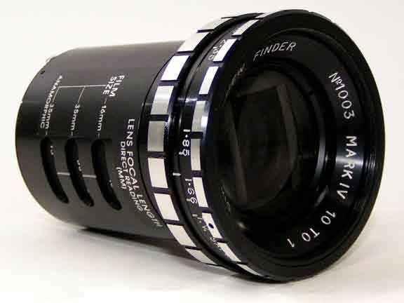 Directors Viewfinder - Manufactured by Alan Gordon Enterprises, Inc. - Hollywood, CA 90038