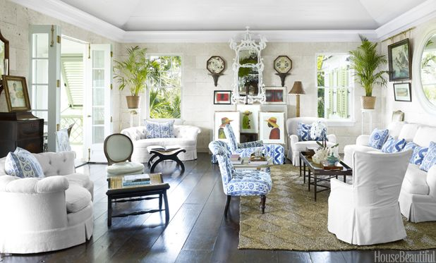 Beach House Decor - Beachy Decorating Style: