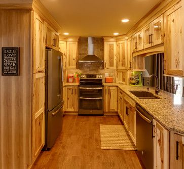 Pintrest Kitchen Floors With Oak Cabinets